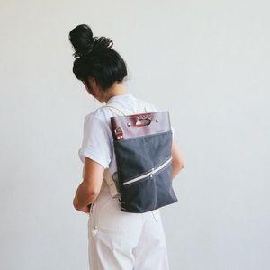 Xobruno backpack/crossbody Alvar canvas bag